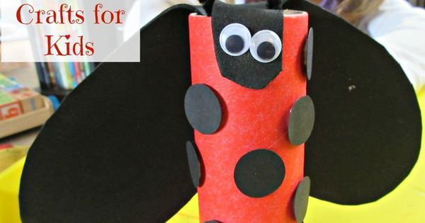 toilet paper roll ladybug craft easy toilet paper roll ladybug crafts for ladybug 7259