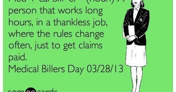 medical billers day