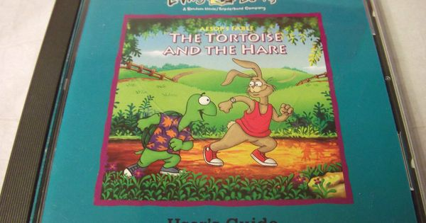 Living Books The Tortoise And The Hare Pc 1993 Vintage