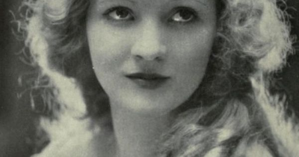Silent film star Mary Miles Minter, 1920s. Involved in the scandal of