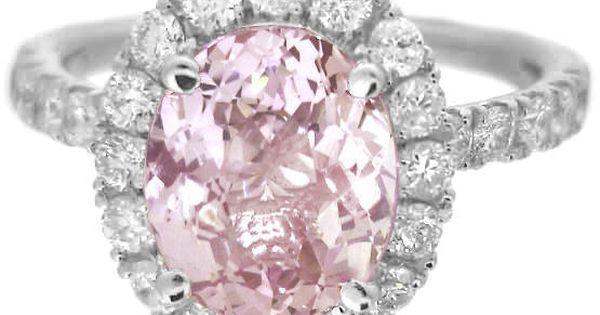 pink wedding ring Wedding Ideas Pinterest Anelli di diamanti