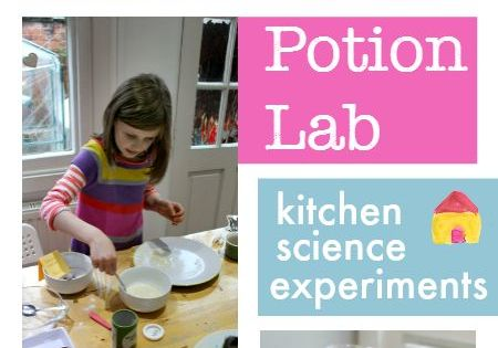 Easy Kitchen Science Experiments Potion Lab Science Experiments And Easy Science Projects