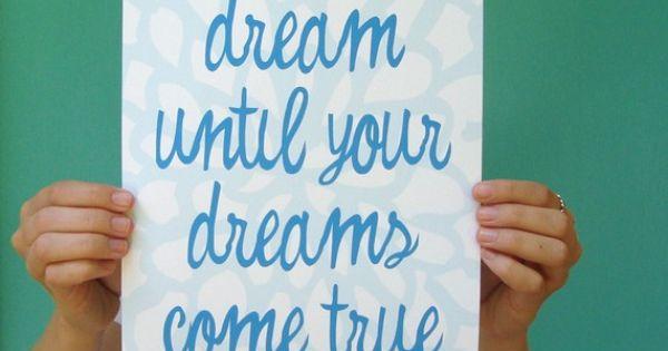 Dream Big, Dream High!