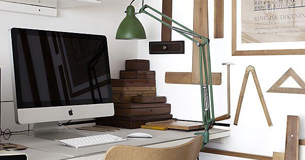 Creative Workspace Inspiration ~@LaurenCFarkas Interior