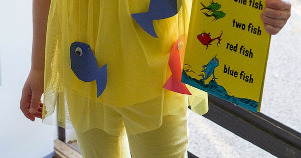 One fish two fish costume diy dr seuss costume one fish for One fish two fish costume