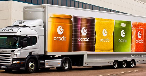 Ocado Double Decker Truck By Greenland Studio Trucks Ocado Greenland