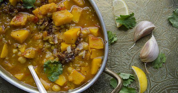 recette de curry indien v g tarien la courge lentilles et pois chiches ce curry indien. Black Bedroom Furniture Sets. Home Design Ideas