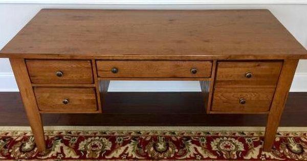 Broyhill Attic Heirlooms Desk In Warm Oak Stain Broyhill Furniture Broyhill Oak Stain