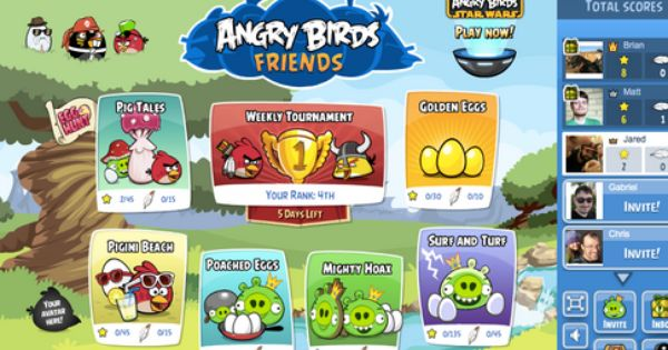 Angry Birds Friends Free Download For Android With Images