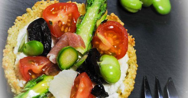 tartelette ricotta asperges | Food | Pinterest | Ricotta, Tapenade and ...