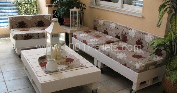 Terrace Pallet Lounge Pallet Ideas Pallet Sofa Pallets And Pallet Lounge