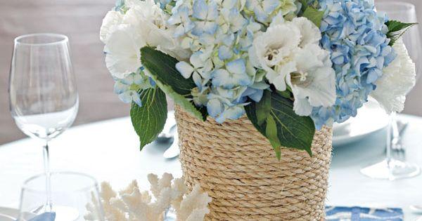 DIY : des vases esprit campagne chic pour mes centres de table ...