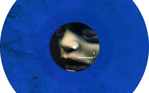 Mutter Album By Rammstein Limited Edition Blue Marbled Vinyl Collection Of Unusual Rare Vinyl And Unique Colored Col Vinyl Vinyl Records Rare Vinyl Records