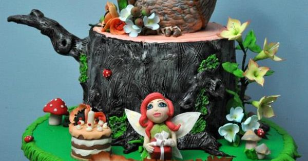Zorica Cake Art : One of my first cake. Made it for my daughter s 5th ...