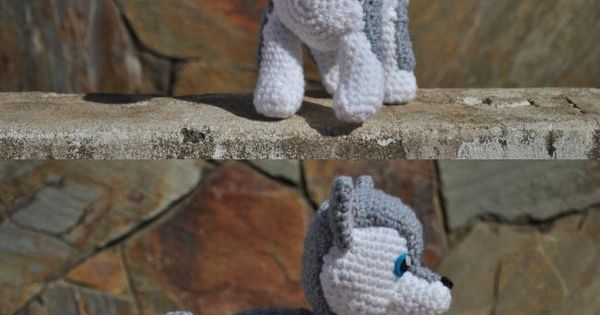 Lobo Amigurumi Tutorial : Little Wolf :) by xAsphyxiatedx.deviantart.com on ...