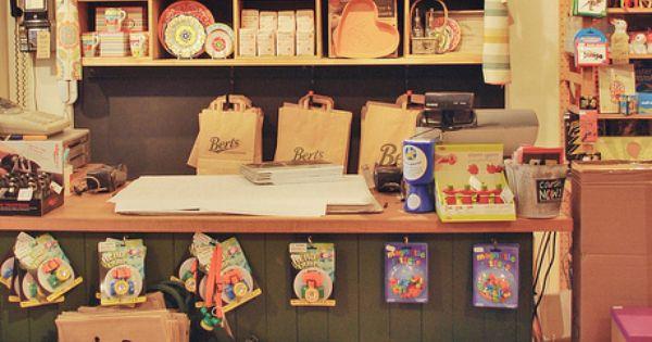 Bert's Homestore | Brighton. love that idea of cosy handmade atmosphere, very