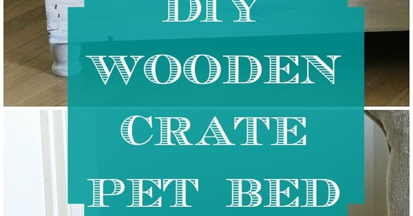 The Great Crate Challenge DIY Wooden Crate Pet Bed | Meet the