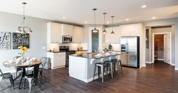 The hudson kitchen trico homes check out the new homes for Ak kitchen cabinets calgary