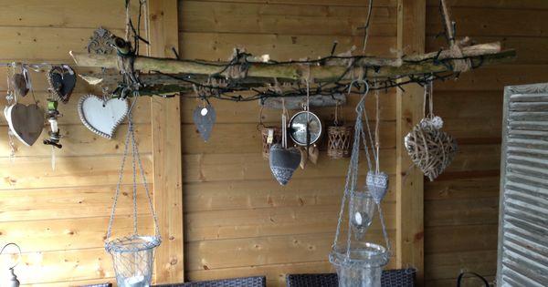 Rekje met verlichting voor onder overkapping overkapping pinterest verlichting tuin en - Ad decoratie binnen ...