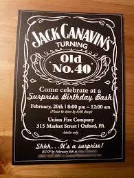 40th Birthday Party Invitation Templates 40th Birthday