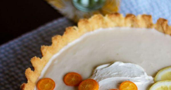 Lemon-Yogurt Icebox Tart | Recipe | Tarts, Yogurt and Lemon