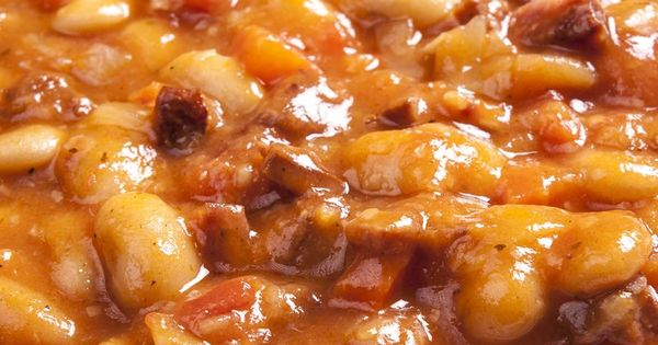 Slow Cooker Texas Style Baked Beans Recipe with Ground ...
