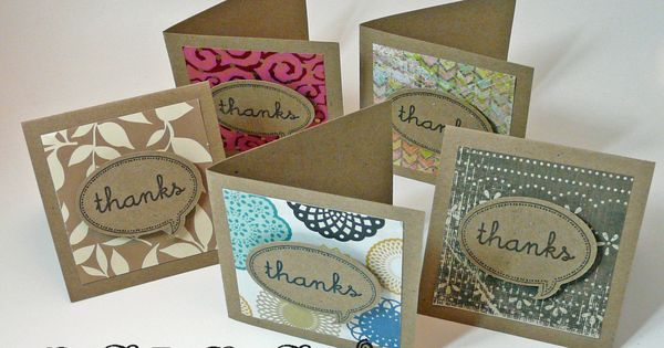 "Make a bundle of 3"" x 3"" cards using scraps of paper"