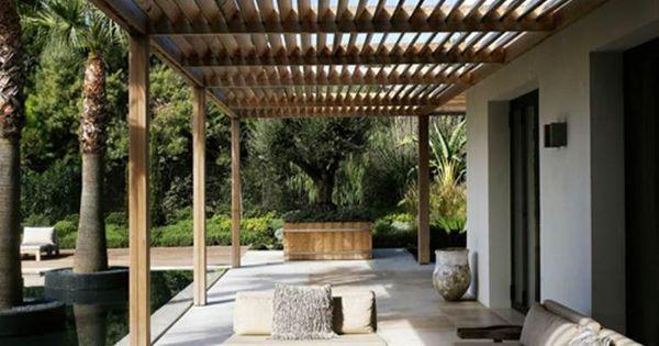 Pergola Terrasse 48 Id Es Pour Une D Co Ext Rieure Moderne Terrasse D Co Et Pergolas