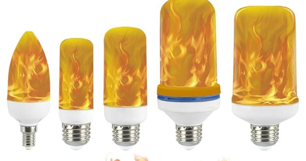 Flame Pattern Light Bulb In 2020 Light Bulb Lamp Light Bulb Firelight