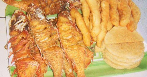 Fresh || Local produce || Fried fish flour & bambi # ...