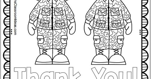 Free Memorial Day Coloring Page