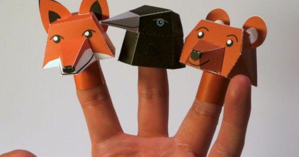 DIY finger doll animals BYU Women's Conference Paper Children
