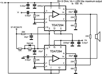 152 best images about mạch Ä'iá ‡n cars circuit this is power amplifier based on ic output power 8 ohm impedance source voltage for circuit see image below
