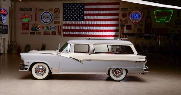 1956 ford parklane 2 door station wagon barrett jackson for 1956 ford 2 door wagon