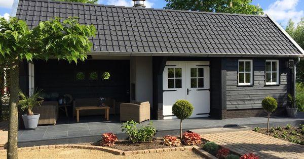 54 geldersche houtbouw tuinhuisjes pinterest met for Overdekt terras model