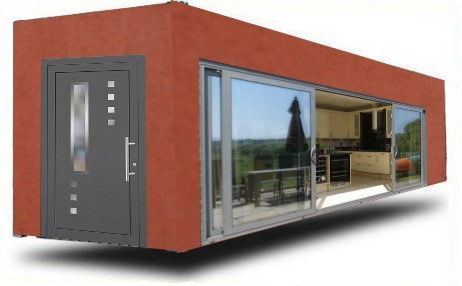 modulhaus ovi haus modulbau wohn container mobiles wohnen suchen container houses pinterest. Black Bedroom Furniture Sets. Home Design Ideas