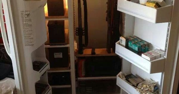 Not a bad idea to recycle an old freezer. Chest freezer