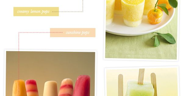 Homemade popsicle recipes!