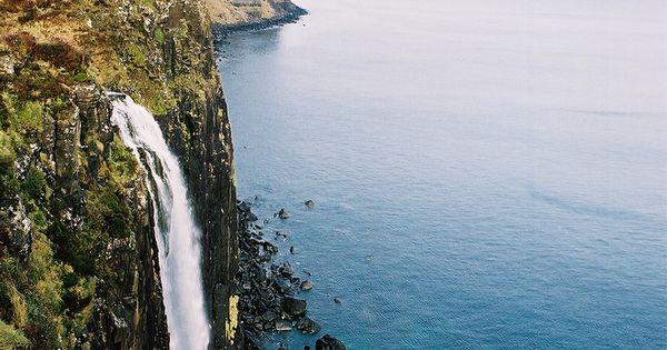 Kilt Rock Waterfall, Isle of Skye, Scotland PrincessCruises and Travel