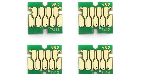 T741X-T7414 Cartridge Chip for Epson SureColor F6000 F7000 F6070 F7070 F6200 F7200 F9200 F6270 F7270 F9270 Printer
