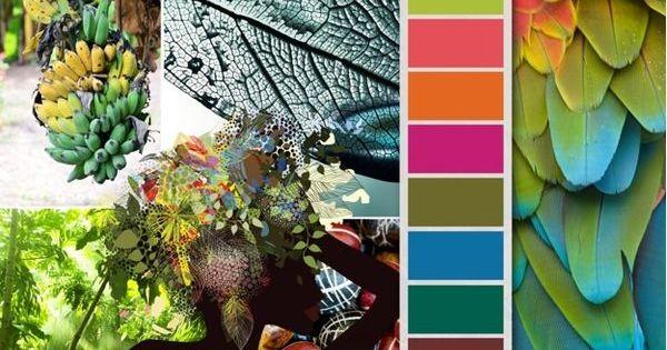 Mode couleurs tendances printemps t 2015 de la for t tropicale tendances - Couleur tendance ete 2015 ...