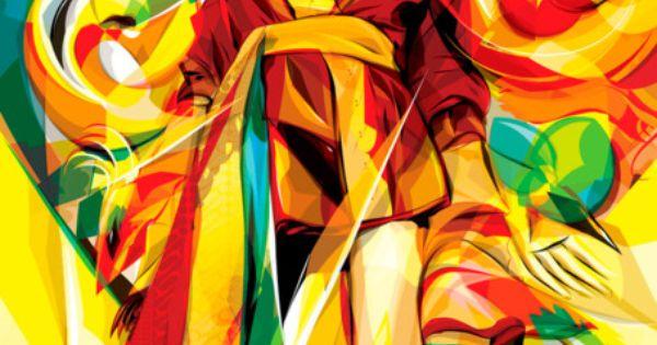 Ilustración vectorial y colorida de AYIB MAKMUN ARIF : ColectivoBicicleta | Revista