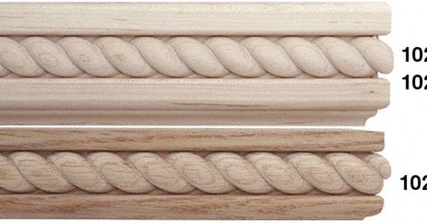 Braided Accents Rope Twist Trim Hardwood Moldings Rope Twist Braid Accent Hardwood