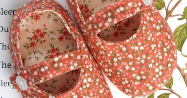 DIY Mary Jane - 10 Cutest Baby Shoe Patterns Ever