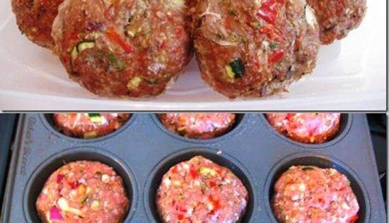 Cupcake de carne molida ideas para cocinar pinterest for Ideas para cocinar