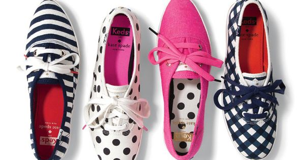 "On my ""get for spring"" list. Kate Spade Keds- Polka Dot Ked"