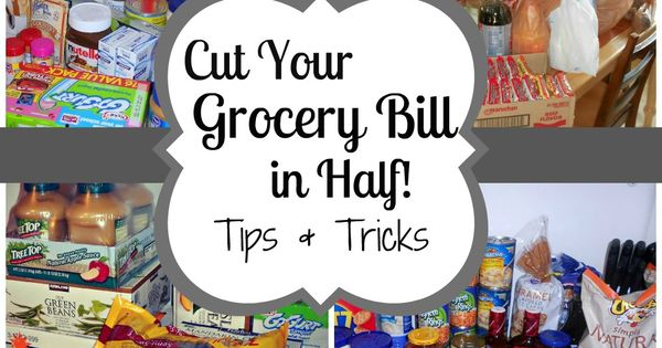 Cut your grocery bill in half. This blog has great tips on