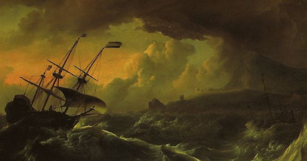 Ludolf Backhuysen Storm Off The Coast Of Norway At Royal Museums Of Fine Arts Of Belgium Brussels Sea Poems Canvas Art Prints Stormy Sea