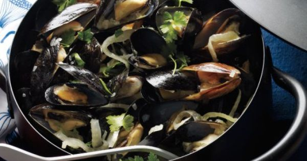 Mussels, Fennel and Lemon on Pinterest