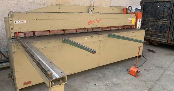 Hydraulic Shear In 2020 Hydraulic Shear Sheet Metal Shear Hydraulic